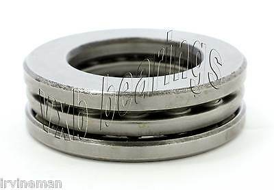 "W1//2 Grooved Race Imperial Size ID 1//2/""x1 9//32/""x 5//8/"" inch Thrust Ball Bearing"