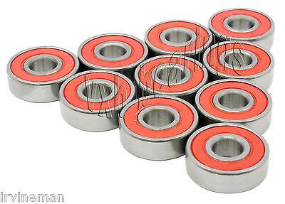 "Lot 10 Bearings 1603-2RS 5//16/""x 7//8/""x 11//32/"" Sealed"