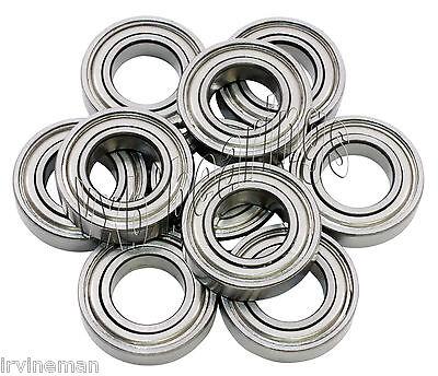 "10 Bearing .125/""x .250/""x .109/"" Sealed inch Bearings VXB"