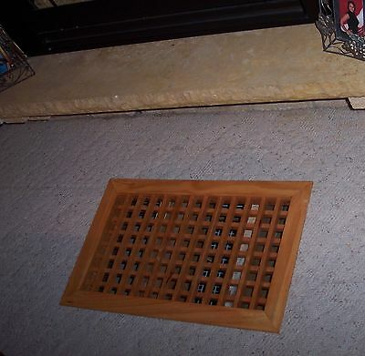 Made To Your Size Large Wood Floor Grate  Wall Register Floor Vent 9