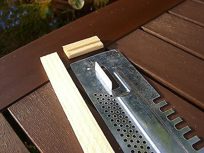 2x Bee Hive sliding Mouse guards / Travel gates  for National hives