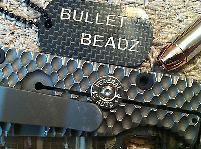 Federal 45 Caliber Bullet Lock Bar Stabilizer made to fit Strider SnG Knives 3