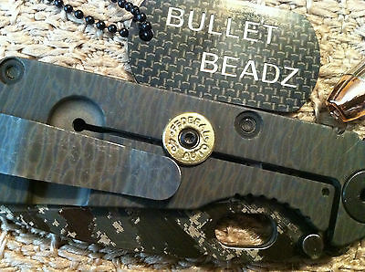 Federal 45 Caliber Bullet Lock Bar Stabilizer made to fit Strider SnG Knives 2
