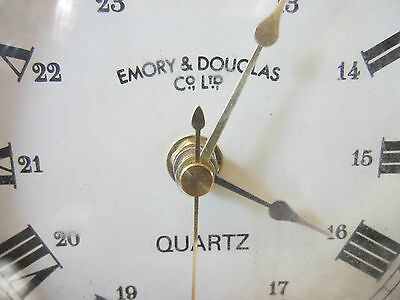 "Nautical, Brass & Wood, ""Quartz"" Mantle Clock 2"