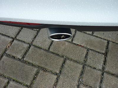 Original Audi Endrohrblende /Auspuffblende Audi A1 /Audi A3, Chrom
