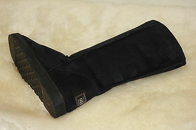 Ugg Boots Tall, Synthetic Wool, Size 8 Mens / 10 Lady's, Colour Black