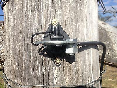 5 Gate Handles & 5 Anchor Plate Pinlock Insulator & Split Bolt Electric Fence 5
