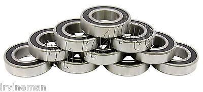 Lot 24 Ball Bearing 6200-2RS 10mm Diameter 6200RS RS R5