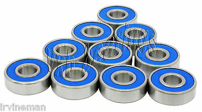 Lot 10 Sealed Radial Ball Bearing 696RS 6x15 6x15x5