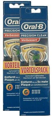 2 3 4 6 8 10 12 16 Oral B Precision Clean Aufsteckbürsten  Ersatzbürsten Oralb 2