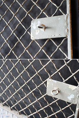 6avail 46x83 Vintage Steel Metal Fence Gate Door Panel Grille Industrial Factory 3
