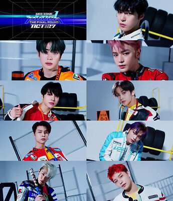 NCT 127 NEO ZONE:THE FINAL ROUND 2nd Repackage Album CD+Poster+P.Book+3Card+GIFT 4