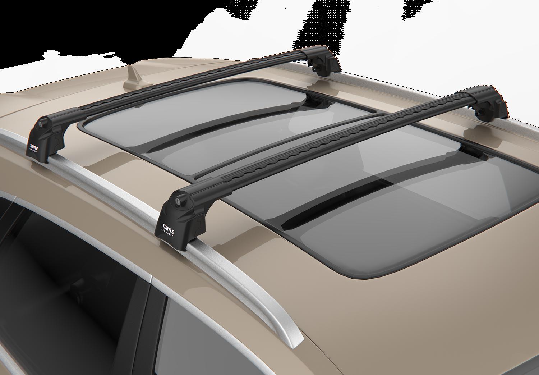2016+ NORDRIVE Snap barres de toit pour Renault Talisman Grandtour-fermés rambarde
