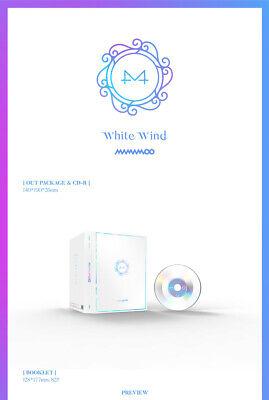 MAMAMOO [WHITE WIND] 9th Mini Album CD+POSTER+Photo Book+2p Card+Frame SEALED 8