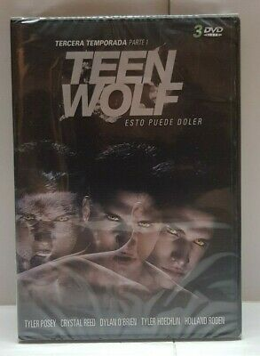 Pelicula Dvd Pack Serie Tv Teen Wolf Temporadas 3Parte1+T4+T5 Precintadas 3