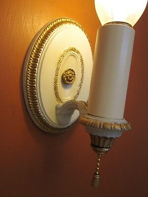Vintage Lighting six 1920s Colonial Revival sconces by Lightolier 2