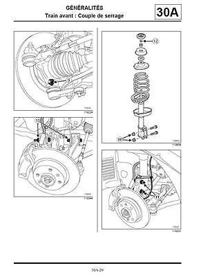 manuel atelier entretien réparation technique Renault Twingo 2 - Fr