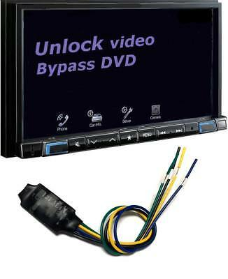 PIONEER ALPINE NEW APO102 Parking Brake Bypass Video in motion Compatible  most