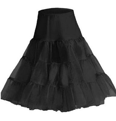 UK Retro 50s Underskirt Swing Vintage Net Petticoat Rockabilly Tutu Fancy Skirt 2
