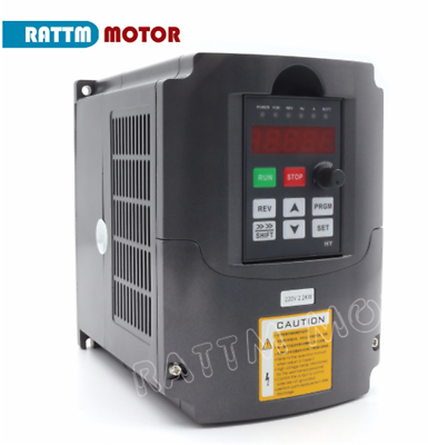 「FR」HY 2.2KW 220V VFD Inverter Converter Variable Frequency Drive Speed Control 2