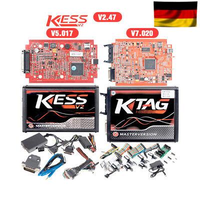 Chiptuning KESS V2 RED Master V5.017 + KTAG V7.020 - ECU programmer OBD2 online 7
