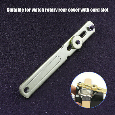 Watch Back Case Opener Battery Change Remover Screw Wrench Repair Tool Kit 2