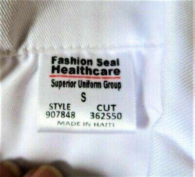 6 Pocket Unisex Consultant, Lab Coat Knee Length Walter Reed Bethesda Logo Small 9