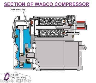 bmw x5 e53 5 series e39 wabco air suspension compressor pump seal rh picclick co uk Commercial Trailer Wiring Diagram International Tractor Wiring Diagram