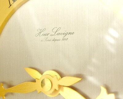 Clock Lavigne Pendulum Napoleon III Bronze H:24 cm 5,5 kg Wide Clock c1980 7
