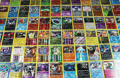 Pokemon TCG : 40 RARE OFFICIAL CARDS w/ a GUARANTEED EX, GX, or MEGA EX + HOLOS 2