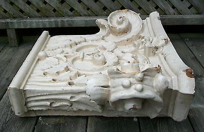 Antique Corinthian Capital - Glazed Ceramic - Canada/U.S. - Late 19th Century 3