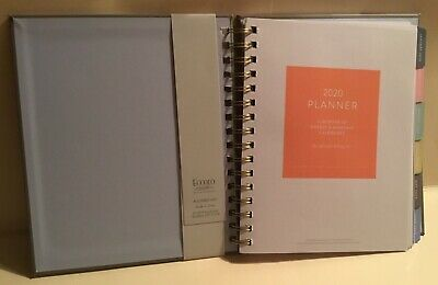 2020 Eccolo 12 Months Weekly Monthly Agenda Planner Calendar - The Master Plan 4