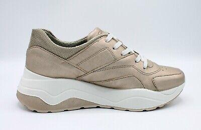 IGI & CO scarpe donna sneakers zeppa platform e da in pelle