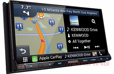 New Kenwood Excelon Dnx893s Apple Car Play Android Auto Gps