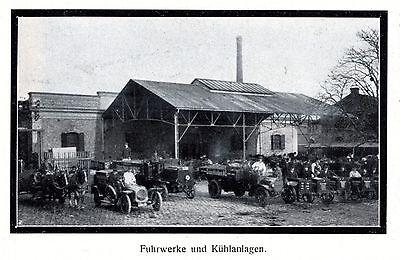 Grossschlächterei Wien XL Reklame 1914 Schlachthof Metzgerei Meiselstrasse +