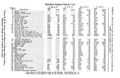 Jumbo Gas Motor Gasoline Engine Book Service Manual Hit Miss Stationary Flywheel 2
