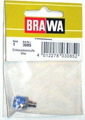 Brawa 3080–Accessorio Elettrico Boccola Da Pannello-Colori Assortiti 5