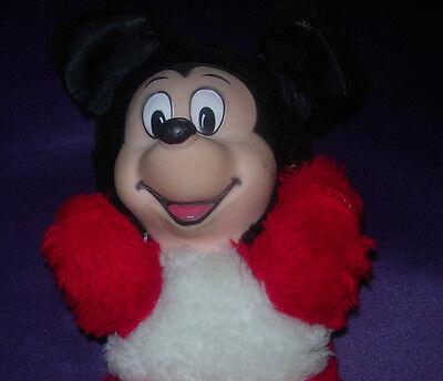 Walt Disney Mickey Mouse Bean Bag Plush Vintage C 1960 S Japan