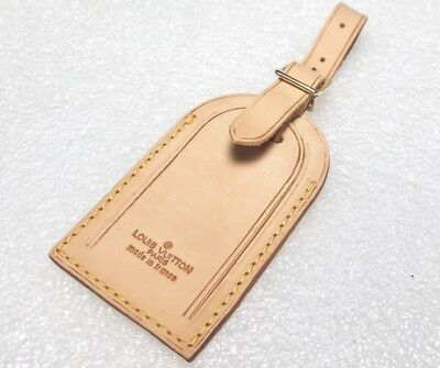Authentic Louis Vuitton Large Name Tag  Older- One pc. 4