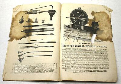 Rare Catalog For Early Quack Electronic Stimulation McIntosh Galvanic Battery Co 6