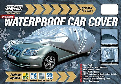 Maypole MP9334 Premium XL Extra Large PU Coated Vent Waterproof Full Car Cover 5