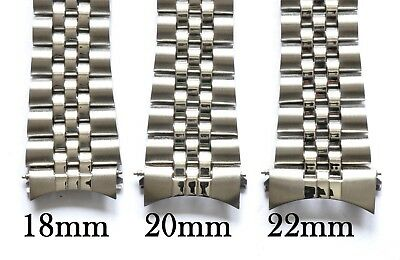 18mm 20mm OR 22mm FOR JUBILEE LINK STYLE CURVED END ENDS WATCH BRACELET QUALITY 4