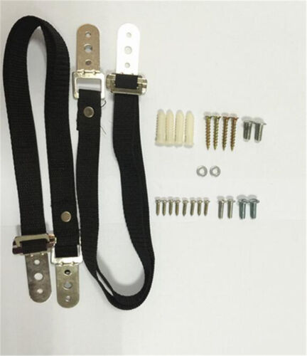 2PCS TV Safety Strap Anti Tip Set Kid Proof Furniture Fix Band Strap