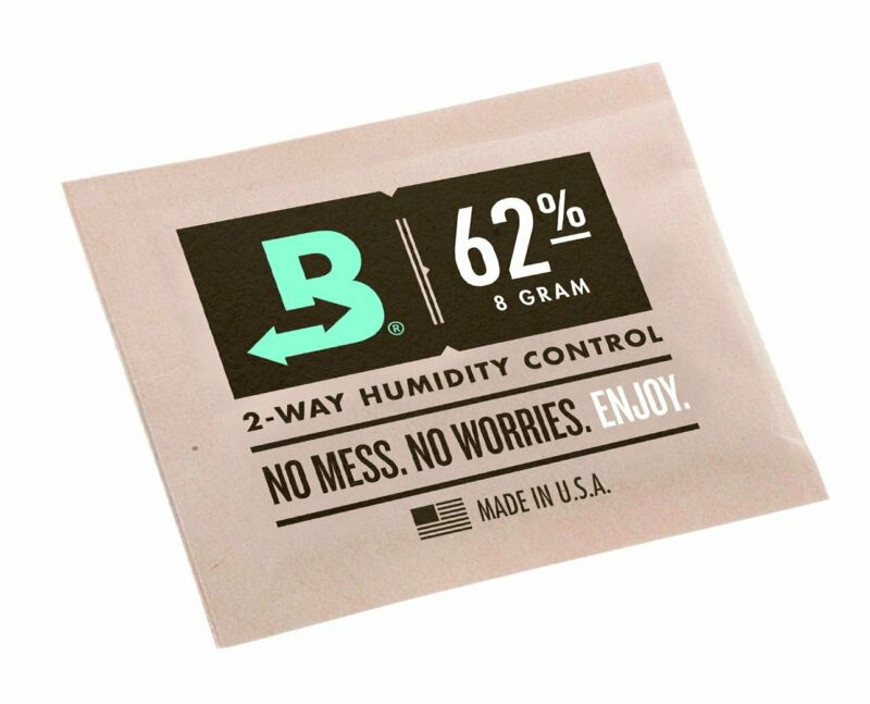 Boveda 62-Percent Rh 2-Way Humidity Control, 8 Gram - 10 Pack 2
