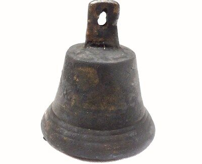 ANTIQUE LATE ROMAN/EARLY BYZANTINE BRONZE BELL number 3 etched on a side ~unique