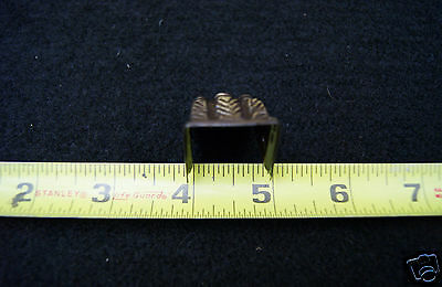 Claw Feet Stamped Brass Small Table Leg  Antique Brass 4