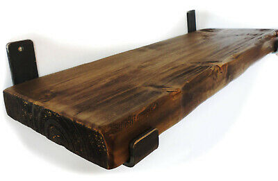 Rustic Shelf Brackets Scaffold Board Heavy Duty 225mm Industrial Steel Metal 8