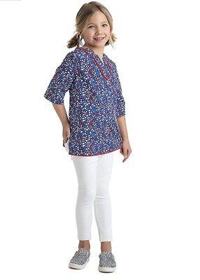 2e1ffa806 ... Vineyard Vines Toddler Girls Whales Stars Tunic Shirt Beach Coverup XS  5-6 NWT 3