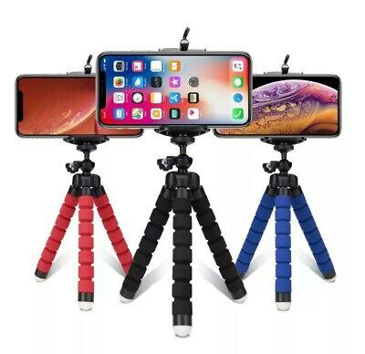 Treppiede cavalletto Flessibile supporto smartphone go pro telecomando Bluetooth 2