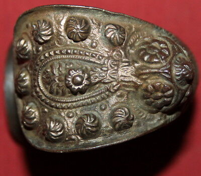Ancient Greek Orthodox Folk Bronze Fertility Bracelet